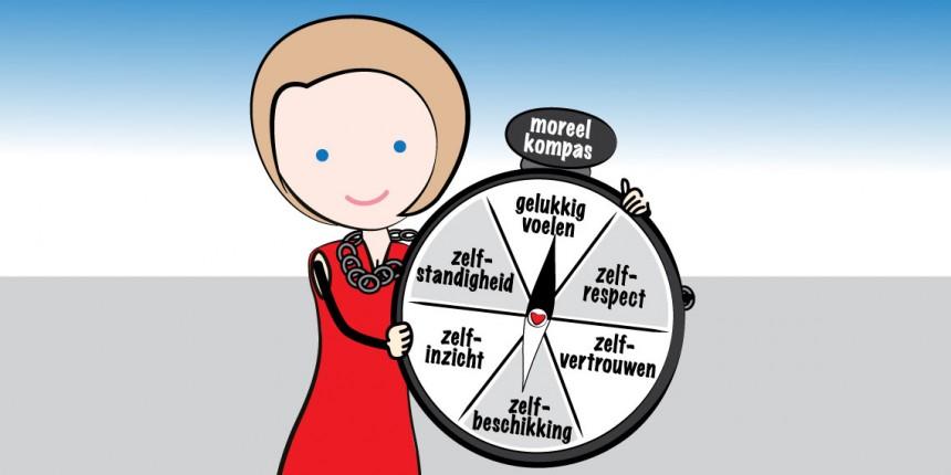 De leerkracht met moreel kompas