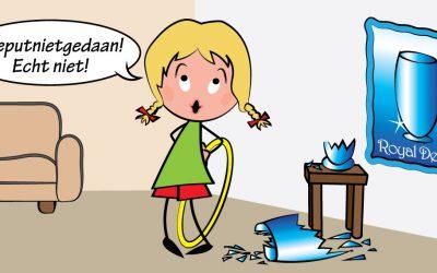 Ontkennen of …niet verdragen kunnen van schuldgevoel